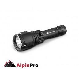 Φακός LED επαναφορτιζόμενος AlpinPro DV-01R
