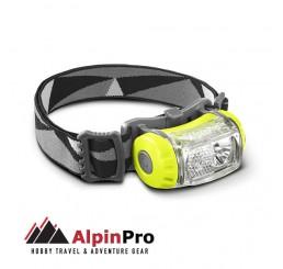 Φακός κεφαλής Led επαναφορτιζόμενος AlpinPro HL-03R