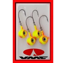 Ζοκάκια Σιλικονούχων VMC Big Eye Yellow/Orange