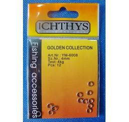 Κρικάκια ανοιγόμενα Inox ICHTHYS YM-6008