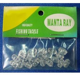 Χάντρες CROSS MANTA RAY