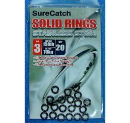 Κρικάκια SureCatch Solid Rings Size3