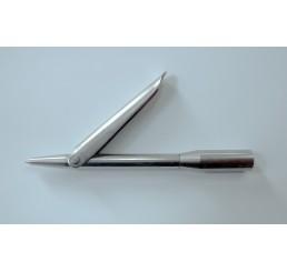 Δελφινιέρα μονόφτερη Inox Sandvic 9cm
