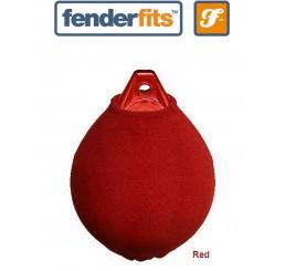 """Καλύμματα μπαλονιών τύπου """"A"""" FenderFits Red"""