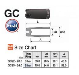 Gimbal Fuji GC Silver Trim