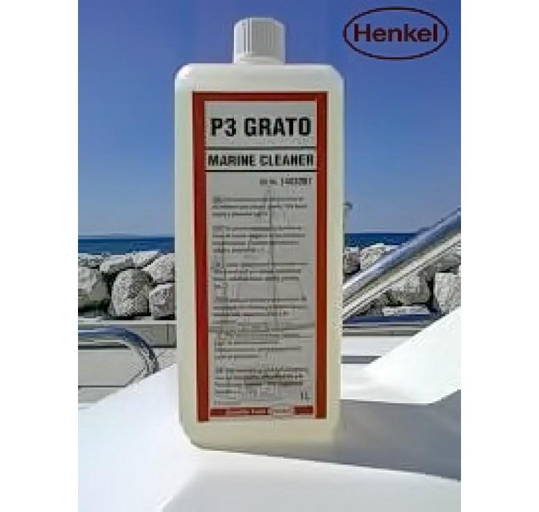 Καθαριστικό πλαστικών & ελαστικών μερών Henkel P3 Grato Marine Cleaner 1Ltr