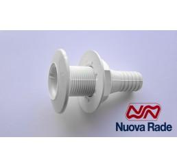 Εξαγωγές νερού λευκές ίσιες Nuova Rade
