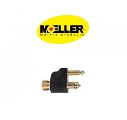 Φίς αρσενικό καυσίμου Moeller για μηχανές Yamaha-Mariner