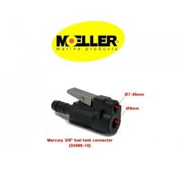 Φίς θηλυκό καυσίμου Moeller για μηχανές Mercury