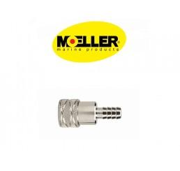 Φίς θηλυκό καυσίμου Moeller για μηχανές Tohatsu-Nissan