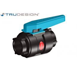 Ball Valve ολικής ροής Composite Nylon Trudesign