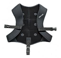 Γιλέκο βαρών πλάτης Black Smooth SEAC-SUB